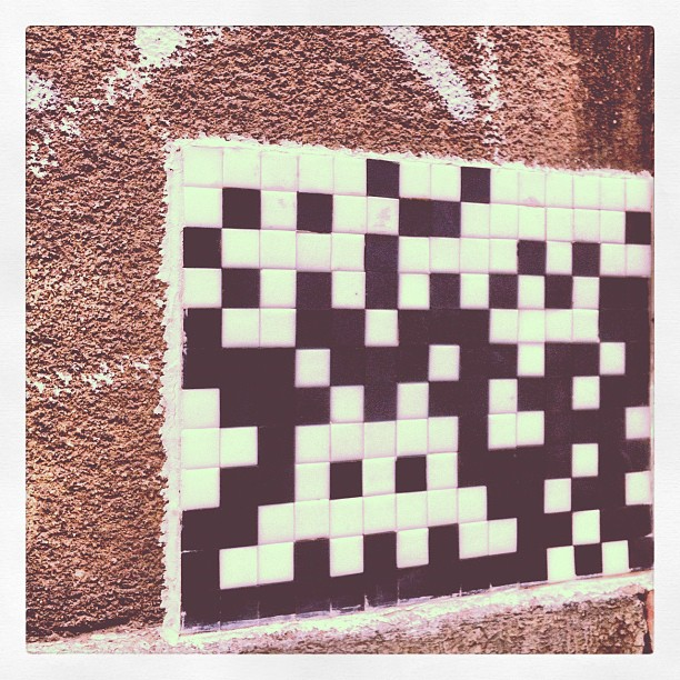 Space Invader in Köln